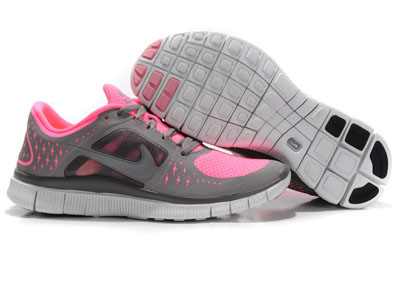 Acheter Nike Free Run 3 Femme Running Chaussures Pearlized rose Gris