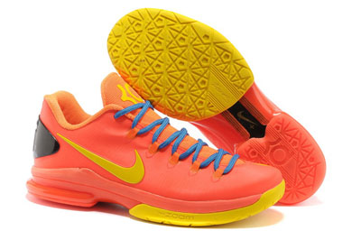 Acheter Nike KD 5 Elite Team Orange
