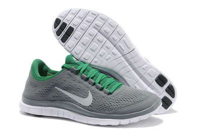 cheap for discount 34f91 660aa Shopping en ligne Nike Free 3.0 V5 Homme Running Chaussures Wolf Gris  blanche Poison vert