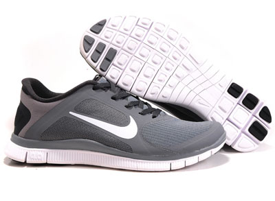 Shopping en ligne Nike Free 4.0 V3 Homme Running Chaussures Cool Gris blanche Anthracite