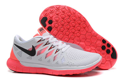 Shopping en ligne Nike Free 5.0 2014 Femme Running Chaussures blanche Gris rouge noir