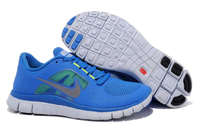 Shopping en ligne Nike Free Run 3 Homme Chaussures Soar Pure Platinum Reflective argent