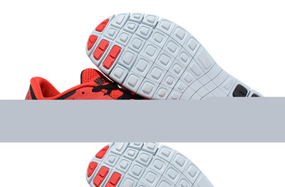 new product 4830e 0bfd3 Shopping en ligne Nike Free Run 3 Homme Chaussures University rouge Pure  Platinum noir