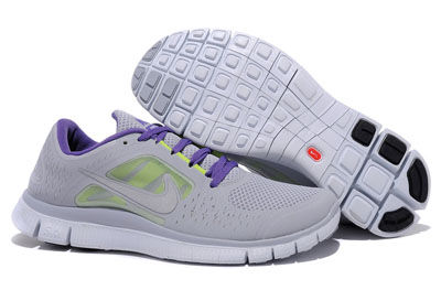 Shopping en ligne Nike Free Run 3 Homme Running Chaussures Wolf Gris Reflective argent