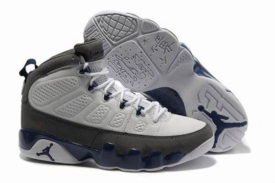 authentique Air Jordan 9 French bleu