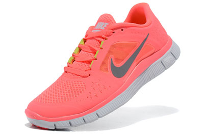 authentique Hot Punch Nike Free Run 3 Femme Running Chaussures