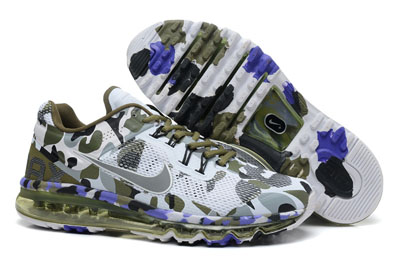 authentique Nike Air Max 2013 Camo Coffee