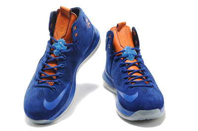 authentique Nike LeBron 10 EXT Hardwood Classic Custom