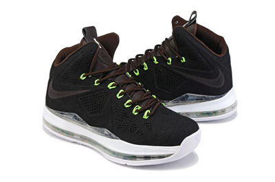 authentique Nike LeBron 10 EXT noir Suede