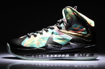 authentique Nike LeBron 10 Elite 2X Championship