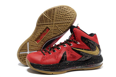 authentique Nike LeBron 10 Elite Championship