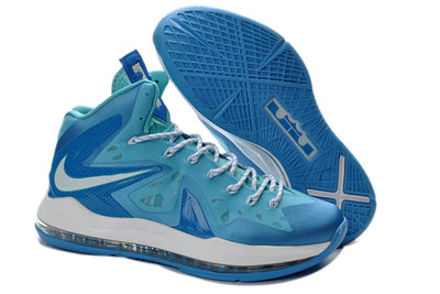 authentique Nike LeBron 10 Elite Photo bleu