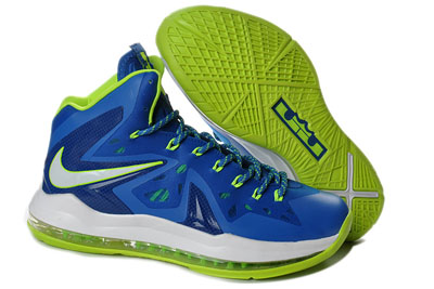 authentique Nike LeBron 10 Elite Sprite