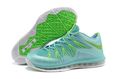 authentique Nike LeBron 10 Low Custom Easter