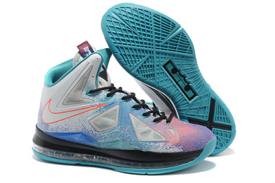 authentique Nike LeBron 10 Pure Platinum