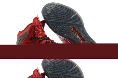 authentique Nike LeBron Championship Pack noir rouge