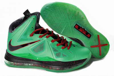 authentique Nike Lebron 10 Cutting Jade