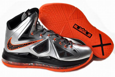 authentique Nike Lebron 10 Lava