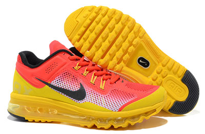 authentique Nike air max 2013 review rouge jaune