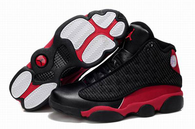 paris Air Jordan 13 noir rouge