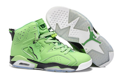 paris Air Jordan 6 Retro Atomic vert