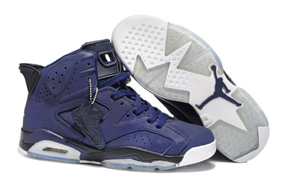 paris Air Jordan 6 Retro Dark bleu