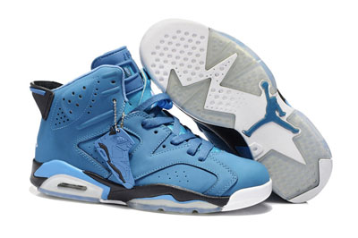 paris Air Jordan 6 Retro Dynamic bleu