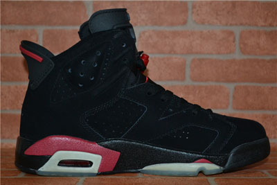 paris Air Jordan 6 Retro Infrared noir