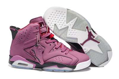 paris Air Jordan 6 Retro rose