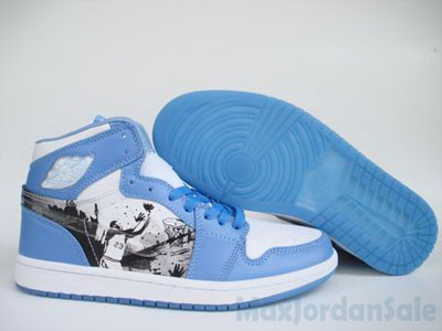 pas chère Air Jordan I Alpha Edition North Carolina Tar Heels