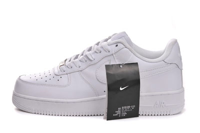 pas chère Nike Air Force 1 Low Trainers blanche