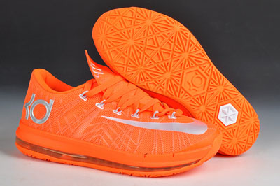 pas chère Nike KD VI Elite Custom Orange