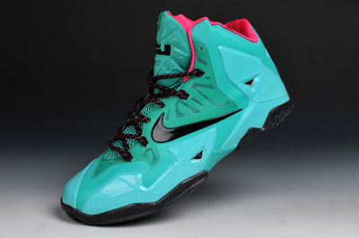 France France France pas chère Nike LeBron South Beach rose Custom Pas cher 1e3868