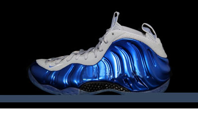 pas cher Nike Air Foamposite One Sport Royal Game