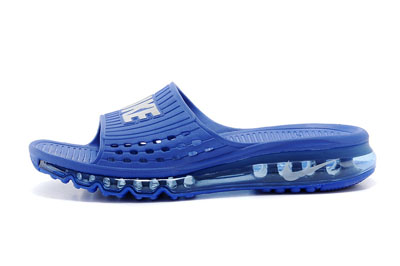 site officiel Nike Air Max 2014 Slide Air Cushion Casual bleu