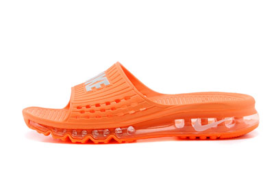 site officiel Nike Air Max 2014 Slide Air Cushion Orange