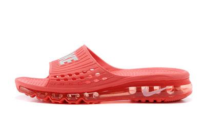 site officiel Nike Air Max 2014 Slide Air Cushion University rouge