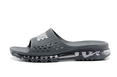 site officiel Nike Air Max 2014 Slide Air Cushion noir Lime Layer