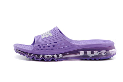 site officiel Nike Air Max 2014 Slide Air Cushion pourpre