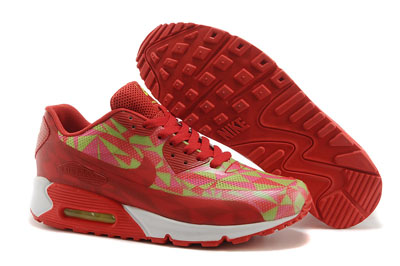site officiel Nike Air Max 90 Hyperfuse Large rouge et blanche