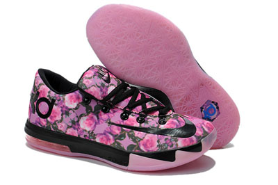 site officiel Nike KD VI noir Rose Powder