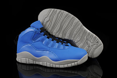 soldé Air Jordan 10 Custom University bleu