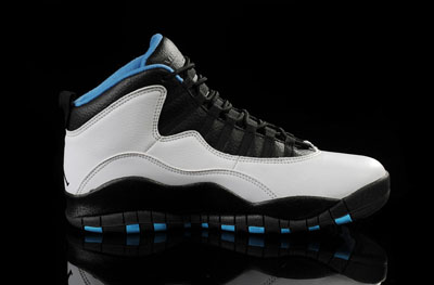 soldé Air Jordan 10 Dark Powder bleu