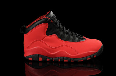 soldé Air Jordan 10 Retro Fusion rouge