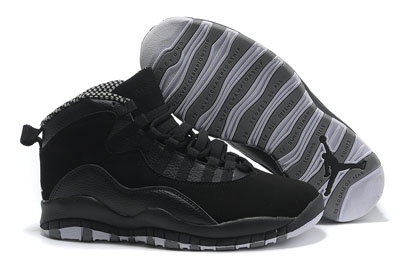 soldé Air Jordan 10 Retro Stealth