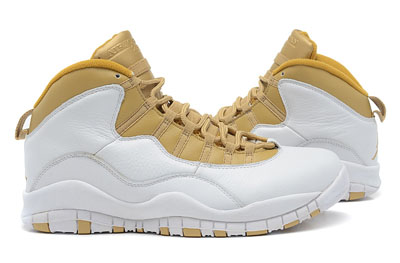 soldé Air Jordan 10 Retro blanche Linen University bleu