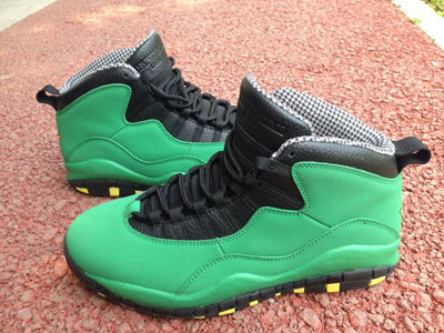 soldé Air jordan 10 Oregon Ducks