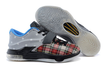 soldé Nike KD 7 EXT Plaid et Polka Dots